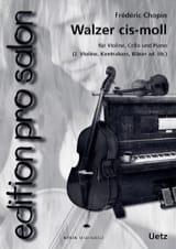 CHOPIN - Walzer Ut - Sheet Music - di-arezzo.co.uk