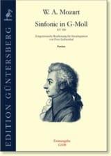 MOZART - Sinfonie En Sol Min. - Kv 550 - Partition - di-arezzo.fr