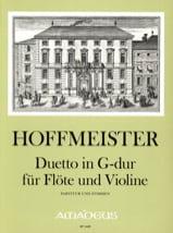 Duetto En Sol Maj. - Franz Anton Hoffmeister - laflutedepan.com