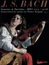 Sonates et Partitas BWV 1001-1006 - Transcr. Guitare - laflutedepan.com