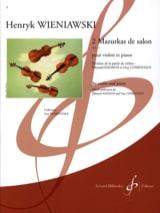 WIENIAWSKI - 2 Mazurkas de Salon Op. 12 - Partition - di-arezzo.fr