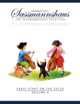 egon sassmannshaus - Early Start On The Cello Vol.4 - Partition - di-arezzo.fr
