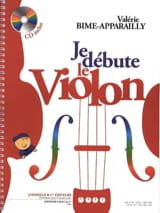 Valérie Bime-Apparailly - I start the violin - Sheet Music - di-arezzo.co.uk