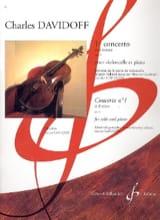 1er Concerto en Si Min. Op. 5 Charles Davidoff laflutedepan.com