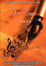 Pro FM Volume 3 - Partition - Solfèges - laflutedepan.com