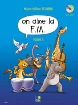 On Aime la FM - Volume 5 SICILIANO Partition laflutedepan.com