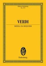 Requiem VERDI Partition Petit format - laflutedepan.com