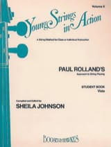 Young Strings In Action Vol.2 - Viola Paul Rolland laflutedepan.com