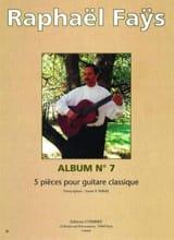 Raphaël Faÿs - Album N ° 7 - 5 Pieces - Sheet Music - di-arezzo.com