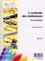 L' Aubade du Violoneux Yves Bouillot Partition laflutedepan.com