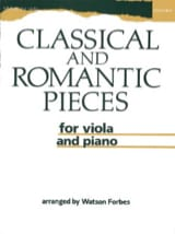 Classical and Romantic Pieces for viola and piano - laflutedepan.com