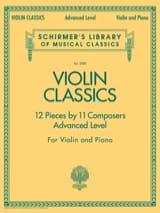 Violin classics advanced level Partition Violon - laflutedepan.com
