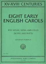 Eight Early English Carols Partition Trios - laflutedepan.com