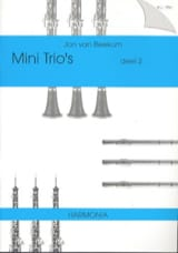 Mini Trio's Deel 2 - 3 Vents Partition Trios - laflutedepan.com