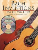 Inventions For Guitar Duet + 2 CDs BACH Partition laflutedepan.com