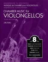 Arpad Pejtsik - Chamber music for violoncellos - vol. 8 - Score parts - Sheet Music - di-arezzo.co.uk