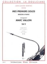Mes Premiers Solos Volume 2 Marc Vallon Partition laflutedepan.com