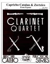 Capriccio Catalan / Zortzico - 4 clarinettes laflutedepan.com