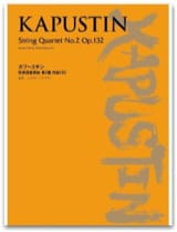 Strinq Quartet N°2 Opus 132 Nikolai Kapustin laflutedepan.com