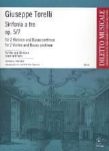 Giuseppe Torelli - Sinfonia To Tre Op.5 N ° 7 - Sheet Music - di-arezzo.com