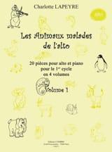 Charlotte Lapeyre - Les Animaux Malades de L'alto Volume 1 - Partition - di-arezzo.fr