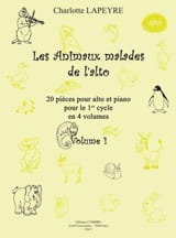 Charlotte Lapeyre - ヴィオラ第一巻の病気の動物 - 楽譜 - di-arezzo.jp