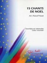 15 Chants de Noël Pascal Proust Partition laflutedepan.com