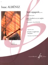 Suite Espagnole Op.47 (Extraits) Isaac Albeniz laflutedepan.com