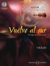 Astor Piazzolla - Vuelvo Al sur - Violon + CD - Partition - di-arezzo.fr