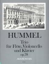Trio Op. 78 Pour Flute, Violoncelle et Piano laflutedepan.com