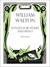 William Walton - Sonata for violin and piano - Sheet Music - di-arezzo.com