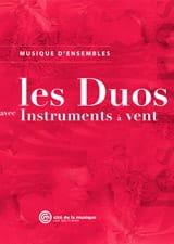 Les Duos avec Instruments à Vents - Partition - laflutedepan.com
