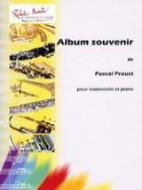 Album Souvenir - Pascal Proust - Partition - laflutedepan.com