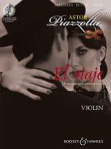El Viaje For Violon Astor Piazzolla Partition laflutedepan.com