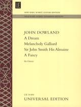 A Dream - Melancholy Galliard - Sir John Smith His Almaine - A Fancy laflutedepan.com