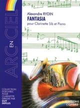 Fantasia Alexandre Rydin Partition Clarinette - laflutedepan.com
