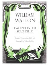 2 Pieces For Cello Solo William Walton Partition laflutedepan.com