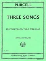 Henry Purcell - Tres canciones - Partitura - di-arezzo.es