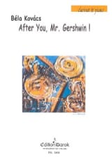After You, Mr Gershwin - Bela Kovacs - Partition - laflutedepan.com