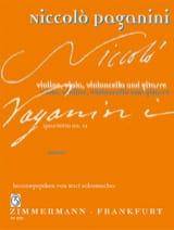 Quartetto N°12 En la Min. - Niccolò Paganini - laflutedepan.com