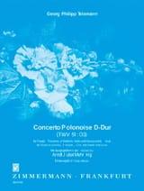 Concerto Polonoise En Ré Maj. Twv 51:d3 TELEMANN laflutedepan.com