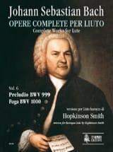BACH - Prélude BWV 999 et Fugue BWV 1000 - Partition - di-arezzo.fr