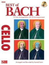 Best of Bach - Violoncelle Donald Sosin Partition laflutedepan.com