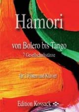 Von Bolero Bis Tango Thomas Hamori Partition Trios - laflutedepan.com