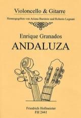 Enrique Granados - Andaluza - Partition - di-arezzo.fr