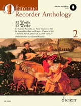 - Baroque Recorder Anthology Volume 2 - Sheet Music - di-arezzo.co.uk