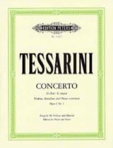 Concerto en Sol Majeur Opus 1 N° 3 Carlo Tessarini laflutedepan.com