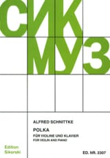 Polka - Alfred Schnittke - Partition - Violon - laflutedepan.com