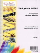 Les Yeux Noirs - Arrgt. Flûtes Jérôme Naulais laflutedepan.com