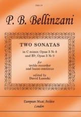 2 Sonates Op.3 N°8 En Ut Min. & Op.3 N°9 En Sib laflutedepan